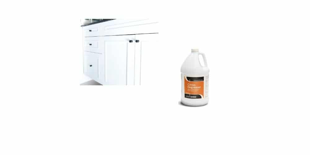 Best degreaser for kitchen cabinets before painting