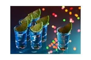 Lime with Tequila