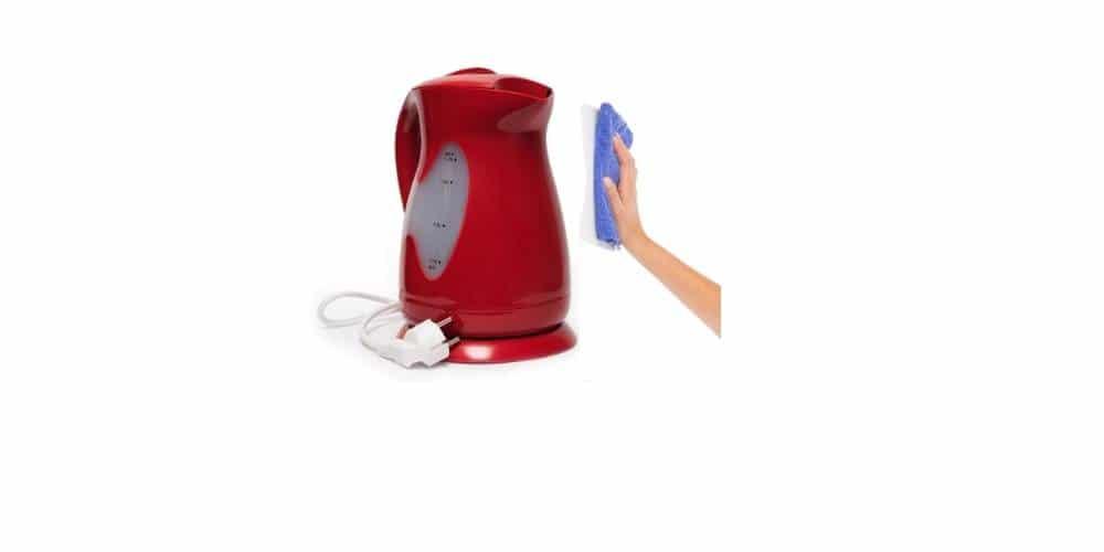 clean proctor silex electric kettle