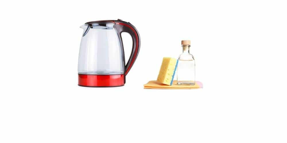 remove rust from electric kettle